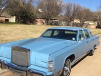 1979 LINCOLN CONTINENTAL TOWN CAR 7,555 ORIGINAL