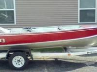 1979 LUND FISHING BOAT, Exterior: Red, Heavy Hauler