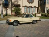 1979 Mercedes Benz 450SL Import Classic This 1979