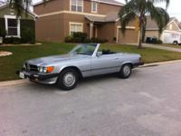 1979 Mercedes Benz 450SL Convertible Roadster with