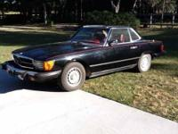 1979 Mercedes Benz 450SL Import Classic Black exterior