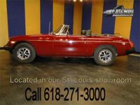1979 MG MGB for sale. These classic little convertibles