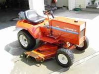 1979 MODEL #8123 GRAVELY LAWN TRACTOR. 12 HP CAST IRON