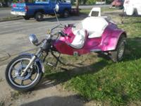 This Kit Trike from 1979 VW title was taken in by us on