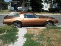 I have a 1979 Firebird in beautiful condition, never