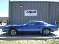 -6.6 liter V8 -Real PHS documented Trans Am -Los