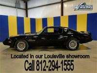 1979 Pontiac Trans Am that is stunning in Black on