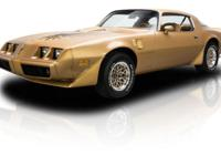 This is a restored 1979 Pontiac Firebird Trans Am and