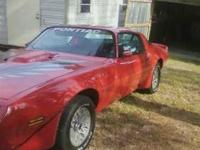 1979 Pontiac Trans Am This American classic now has