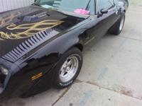 1979 TRANS-AM (BANDIT CAR) VERY FAST GOOD RUNNING CAR