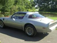 Great 1979 Pontiac Trans Am. 89,XXX original miles. PHS