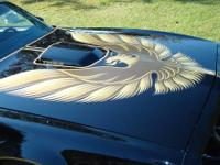 This is a 1979 Trans Am Pontiac Bandits Edition. This