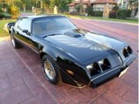 This exceptional Firebird Trans Am maintains impeccable