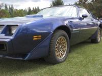 $21,000 OBO 1979 Trans Am large T-top car. This Trans
