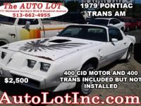 1979 PONTIAC TRANS AM We Buy and Sell Classic
