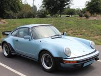 1979 Porsche 930  The Porsche 930 has original blue