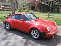 1979 Porsche 930 Turbo Coupe.  Finished in Guards Red