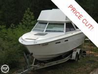The 1979 Sea Ray 240 CC is a fishing machine, among the