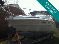 This 1979 Sea Ray 300 Weekender has fairly the story to