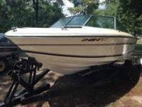 I have a 1979 sea ray deck boat, its pretty big, 18