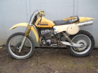 For Sale: This bike has a 402cc 2 stroke engine and a 5