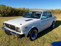 This is a very clean Corolla for the year. -Carburetor