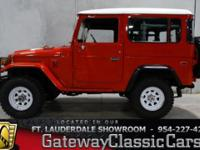 Stock #19-FTL  1979 Toyota Land Cruiser FJ-40 $53,000