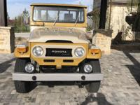 1979 Toyota Land Cruiser HJ45 Outstanding Ground Up
