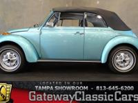 Stock #573-TPA 1979 Volkswagen Beetle  $28,995 Engine: