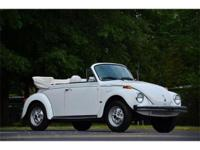 This 1979 Volkswagen Beetle 2dr Convertible . It is