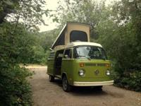This splendid VW camper van has only knowledgeable 2