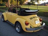 For sale 1979 vw super beetle convertible with 77,900