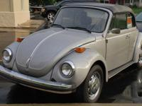 1979 VW Bug Convertible 4-speed, runs great! 43,000
