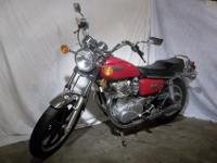 Beautiful XS650 motorcycle that can be seen on eBay