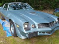 Up for sale is a 79 Z28 project car. It is powered by a