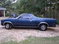For sale 1979 Chevy El Camino. I am the third owner. I