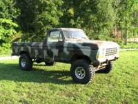 Excellent truck for hunting, winter roads, or project.