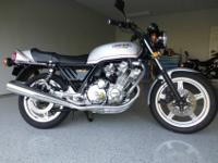 There are a few updates on this CBX. Front brake system