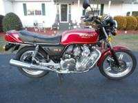 1979 honda cbx for sale in mint condition. the title