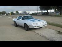 1979 PONTIAC FIREBIRD FORMULA! NEW EDLEBROCK CARB.! NEW