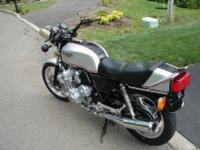1979 Honda CBX 1000 unrestored with 3169 miles.Overall