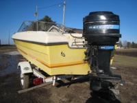 with a shoreland'r tilt trailer and a 80 hp. mercury