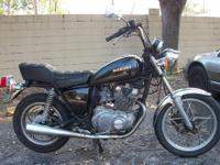 1980 Suzuki GS 450 LE motorcyle for sale. Runs great.