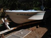 1980 Brunswick Fishing Boat - 45 horse Chrysler motor