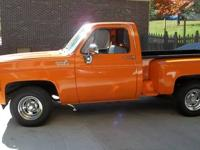 Very sharp short bed pickup with only 4,500 miles on