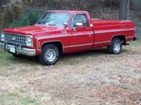 Like new condition This C10 Silverado has been very