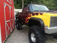 i have an extremely great 1984 chevy 4x4 lifted. has 44