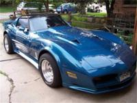 1980 Custom Corvette This car is one of a kind.