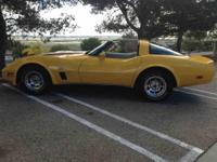 Year : 1980 Make : Chevrolet Model : Corvette L82