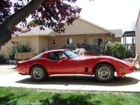 This is a beautifully restored 1980 Chevrolet Corvette